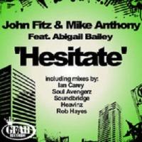 - Hesitate