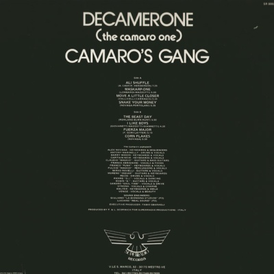 Camaro's Gang - Decamerone (The Camaro One) (Album)