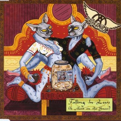 Aerosmith - Falling In Love (Is Hard On The Knees) (LP)