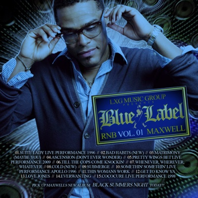 Maxwell - Blue Label RNB Vol.1