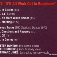 - It'll All Work Out In Boomland
