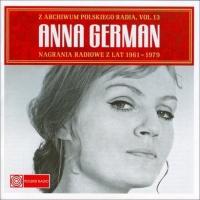 Анна Герман (Anna German) - Nagrania Radiowe Z Lat 1961 - 1979 CD 1