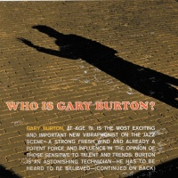 Gary Burton - Who Is Gary Burton?