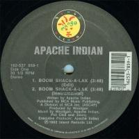 Apache Indian - Boom Shack-A-Lak