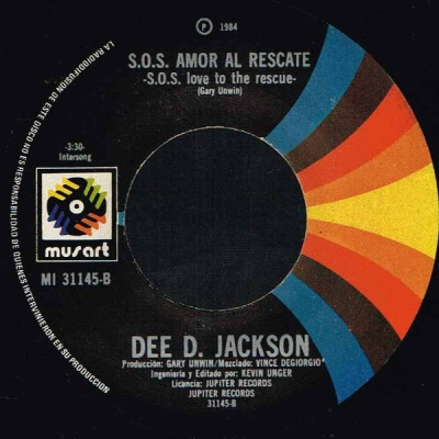 Dee D. Jackson - S.O.S. Love To The Rescue = S.O.S. Amor Al Rescate