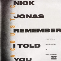 Remember I Told You (feat. Anne-Marie & Mike Posner) [Acoustic] - Single