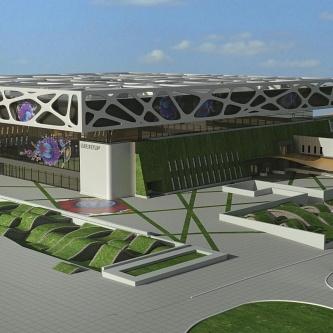 Для проведения «Евровидения 2017» представлен проект арены