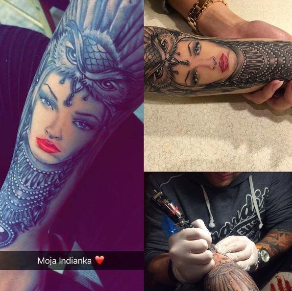 Фанаты делают тату с изображением Алены Шишковой