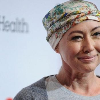 Шэннен Доэрти вышла в свет после химиотерапии