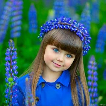 Девочку из Перми признали самым красивым ребенком мира