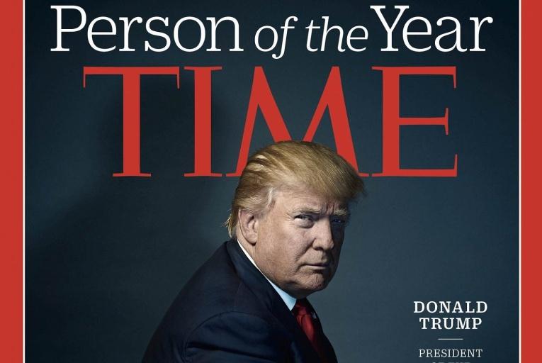 Назван «Человек года» по версии журнала Time