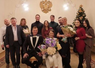 Дмитрий Тарасов женился на Анастасии Костенко