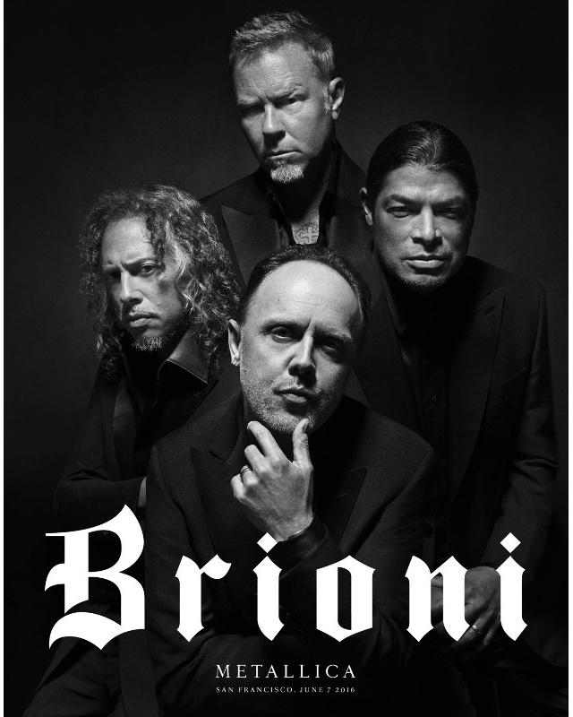 Группа Metallica носит Brioni