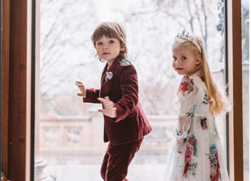 Сказочное фото детей Примадонны очаровало пользователей сети
