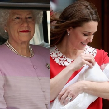 Сын Кейт Миддлтон и принца Уильяма познакомился с Елизаветой II