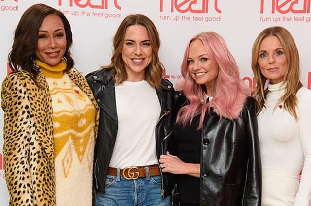 Воссоединившиеся участницы Spice Girls появились на радио
