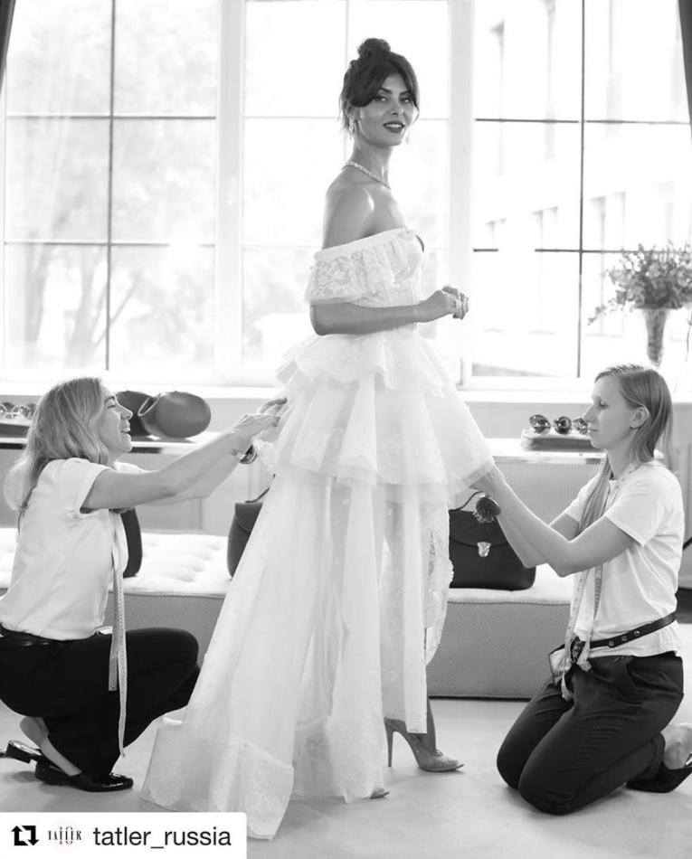 Лучшие свадебные платья звезд в 2019 году
