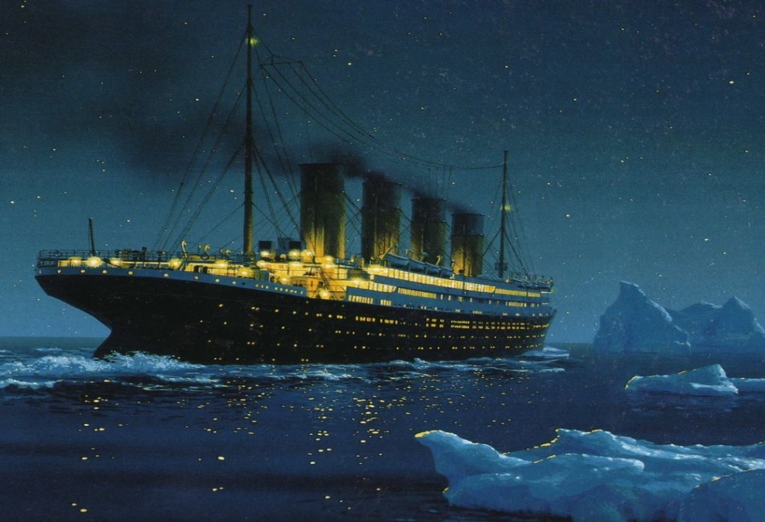 СМИ: Титаник утонул не из-за айсберга?